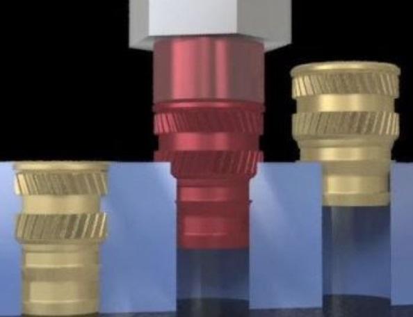 プラスチックインサート基本的な4つの取り付け方法