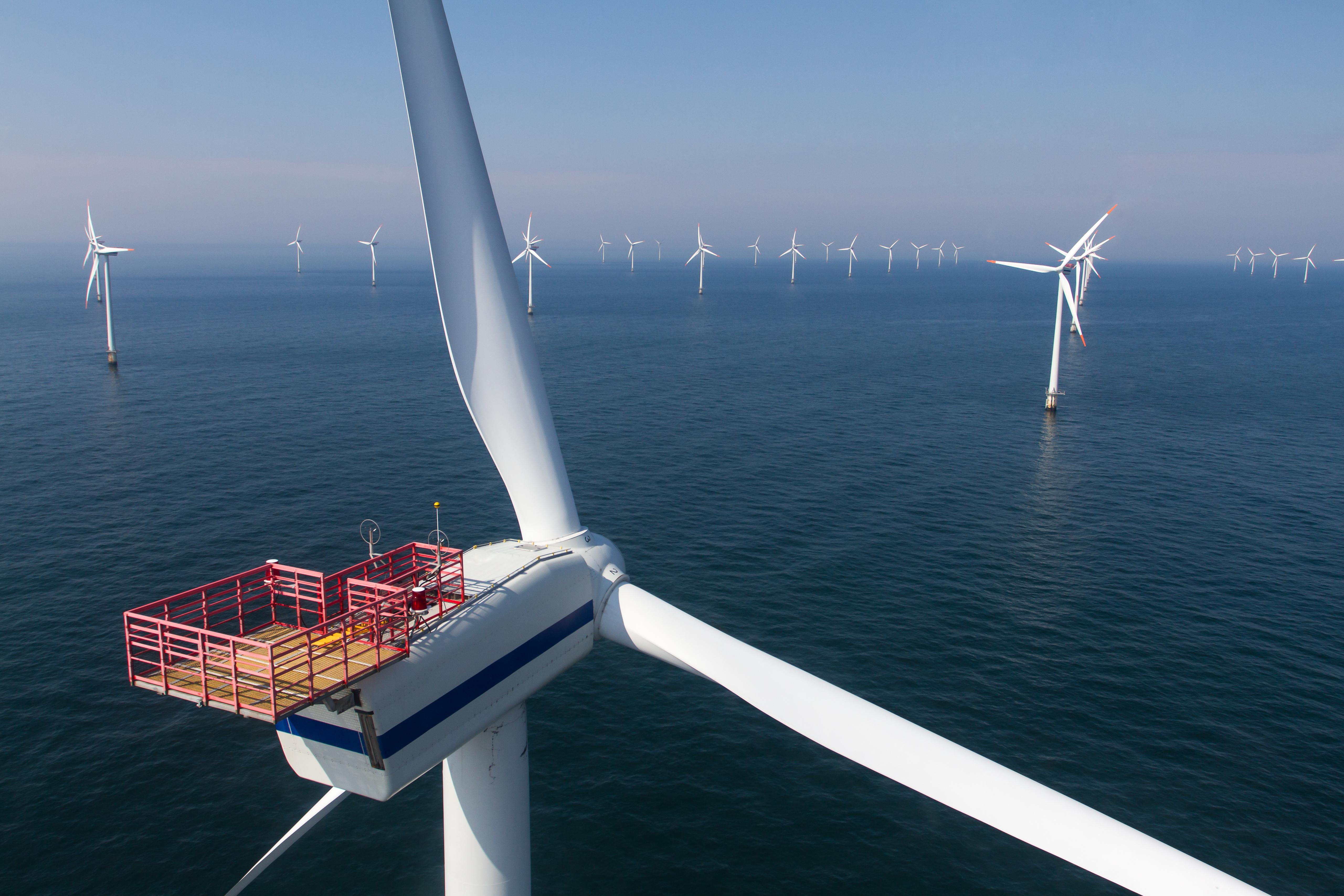 洋上風力発電機