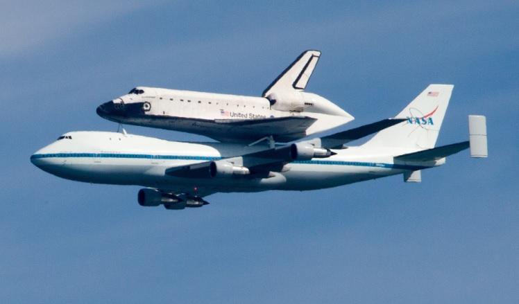 スペースシャトル移送